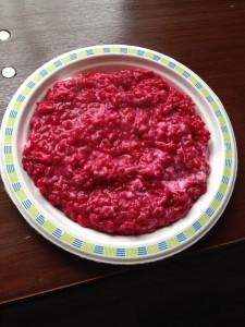 Reis mit Rote Beete