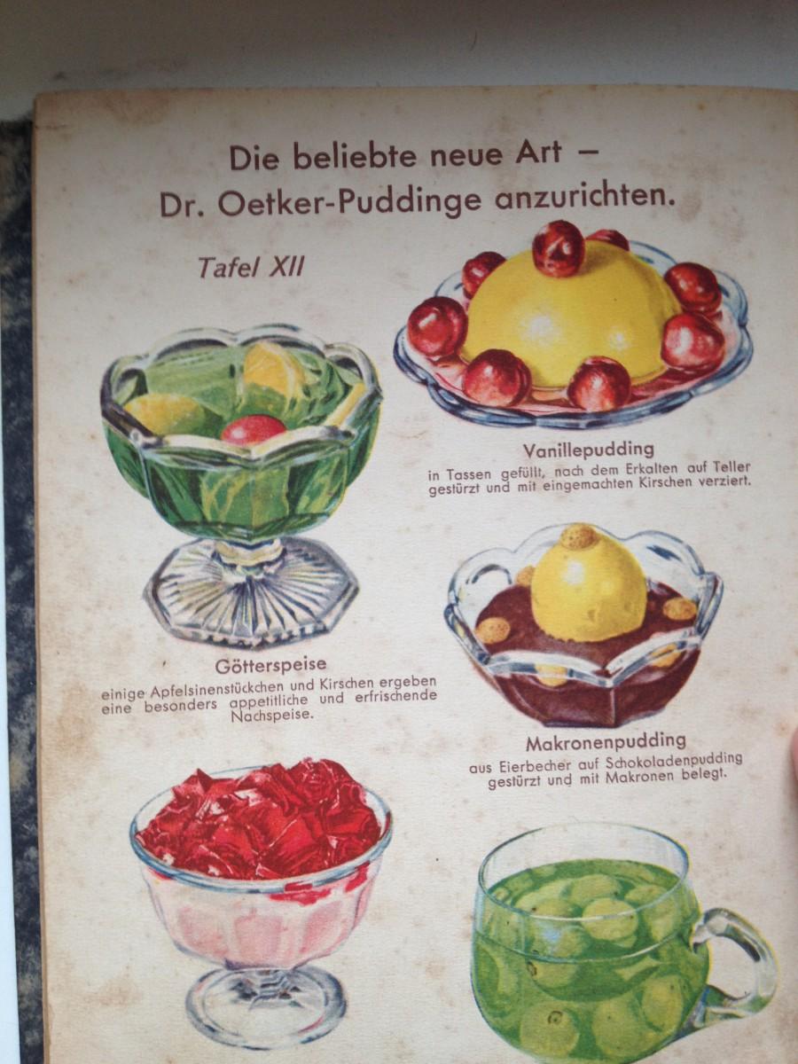 Dr Oetker Pudding Anrichtvorschläge
