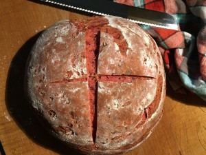 Rote Bete Dinkel Brot