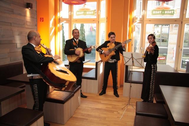 Mexikanische Band im Taco Taco Leipzig