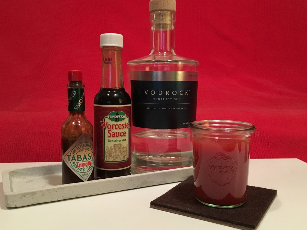 Im Glas: Bloody Mary mit Vodrock Vodka