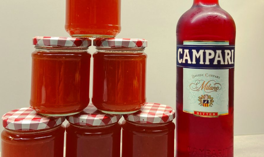 Rezept: Campari-Blutorangen-Gelee