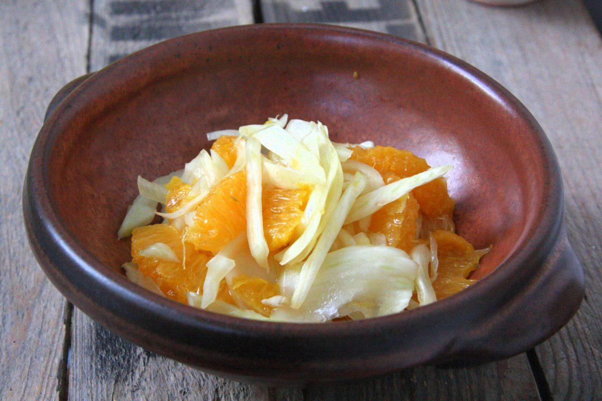 Fenchel-Orangen-Salat