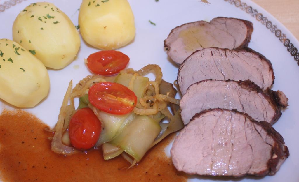 Filet vom Freilandschwein Tellerbild