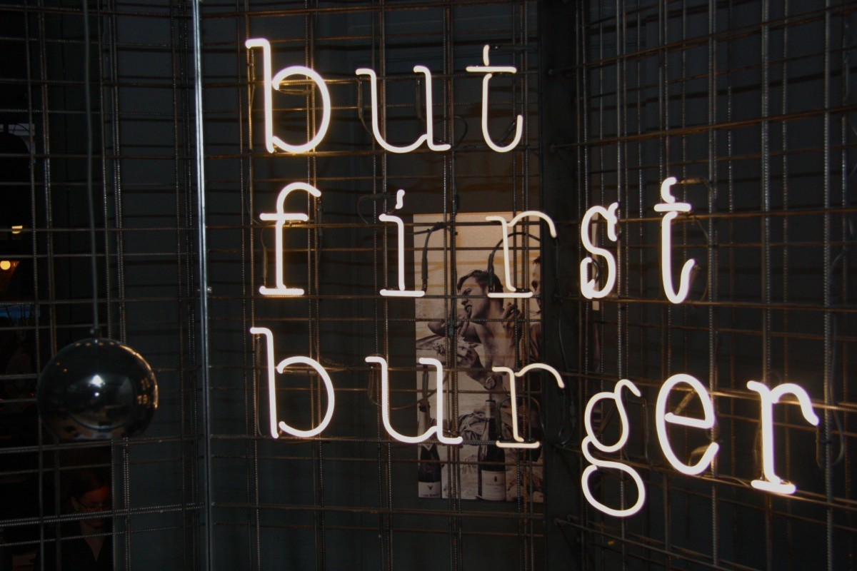 but first burger
