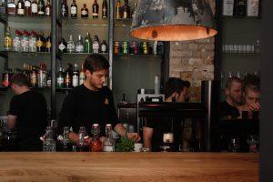 Bar im Burgerheart Leipzig