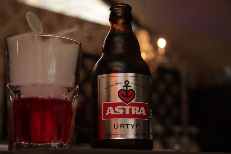 Proseeco und Astrabier