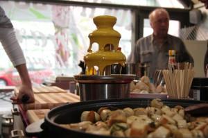 Currywurstbrunnen in der Kochbox