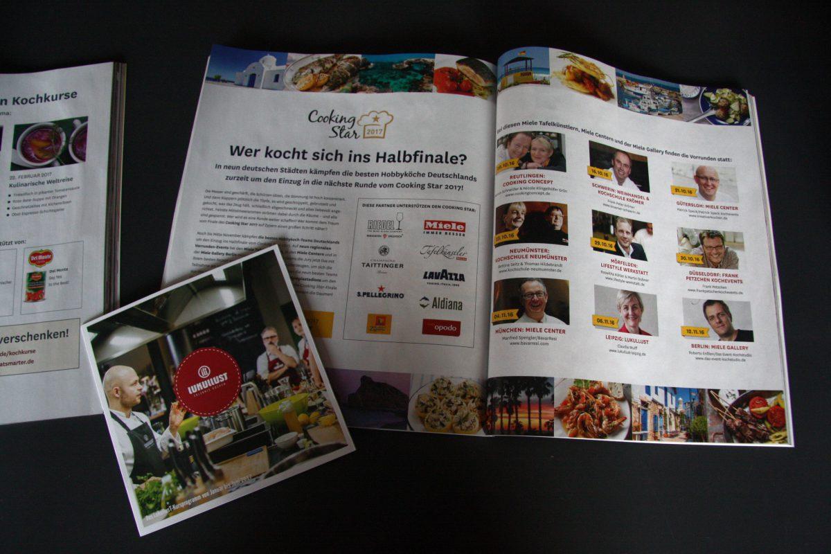 Cooking Star in der Eat Smarter