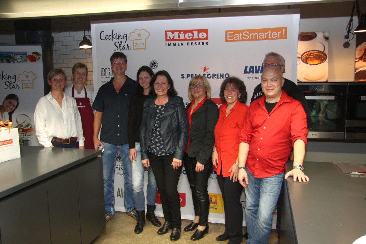 Team und Jury Lukulust Leipzig Cooking Star 2017