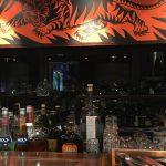 Blick über die Bar des Falco Leipzig