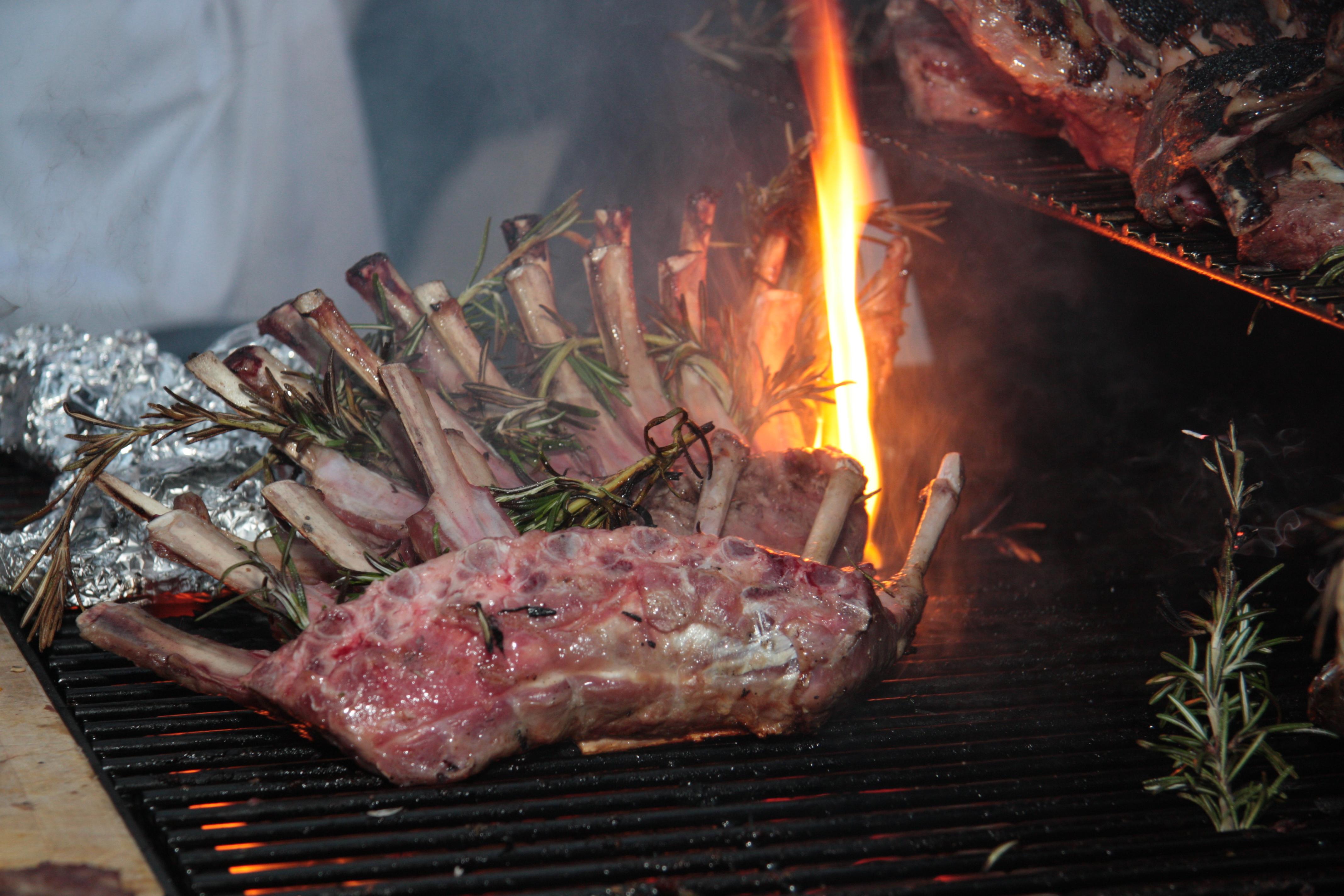 Winter BBQ Neuseeland Lamm
