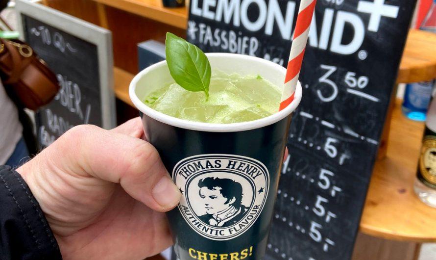 Cocktail des Monats #4 Gin Basil Fizz