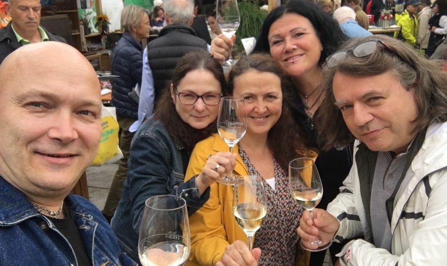 Tage des offenen Weins und Weinfest im September in Leipzig
