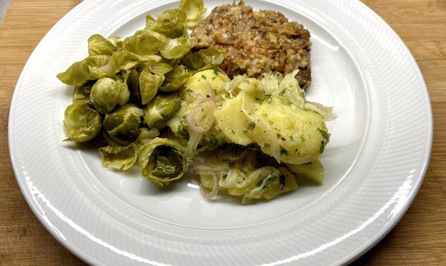Rezept: Kartoffel-Fenchel-Salat mit Petersilien-Vinaigrette