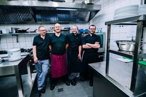 Das Küchenteam im Münster