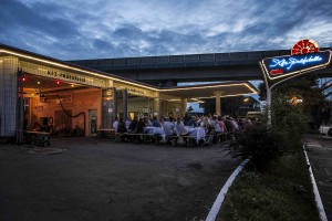 Pilsner Urquell Mobiler Biergarten